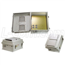 14x12x7-inch-vented-weatherproof-nema-enclosure-with-mounting-plate L-Com Enclosure