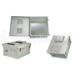 18x16x8-inch-vented-weatherproof-nema-enclosure-with-mounting-plate L-Com Enclosure