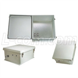 18x16x8-inch-weatherproof-nema-enclosure-with-mounting-plate L-Com Enclosure