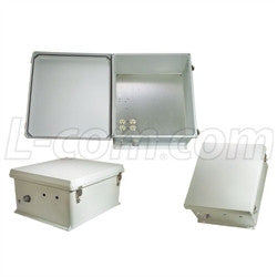 18x16x8-inch-120-vac-weatherproof-enclosure-with-heating-system L-Com Enclosure