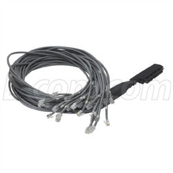 Cable cat-3-telco-breakout-cable-female-telco-25-6x2-30-ft