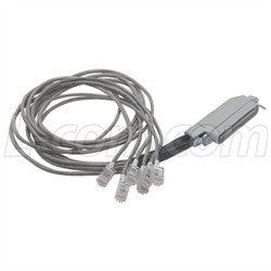 Cable cat-3-telco-breakout-cable-male-telco-8-6x6-30-ft