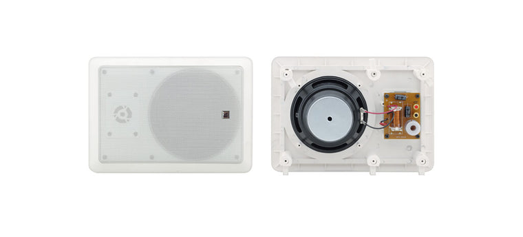 Galil 6-I  6.5–Inch, 2–Way Open–Back Rectangular In–Wall Speakers
