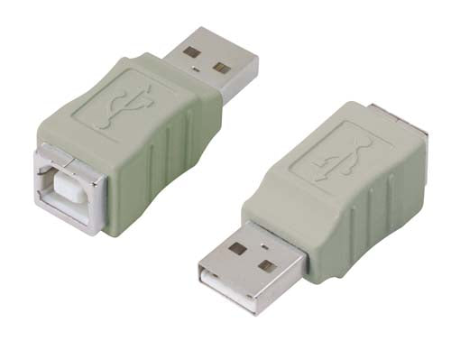 UAD010MF  USB Adapter, Type A Male / Type B Female