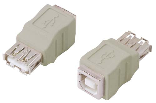 USB Adapter, USB b-f/a-f