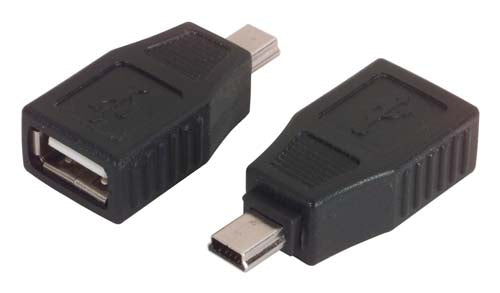 USB Adapter, Type A Female / Mini-B5 Male UAD019FM