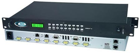 unimux 4x8 uhdu nti kvm matrix switch 4x8 itm components