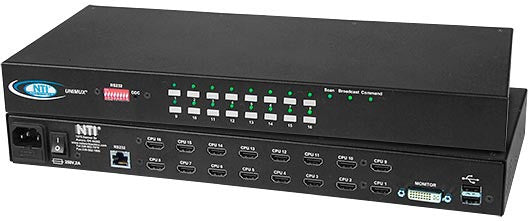 UNIMUX-DVI-32HD - KVM Switch