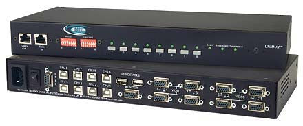 UNIMUX-USBV-4O - KVM Switch