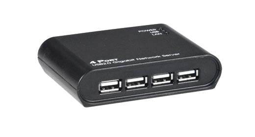 USB-IP-4LC Low-Cost USB Over IP Extender