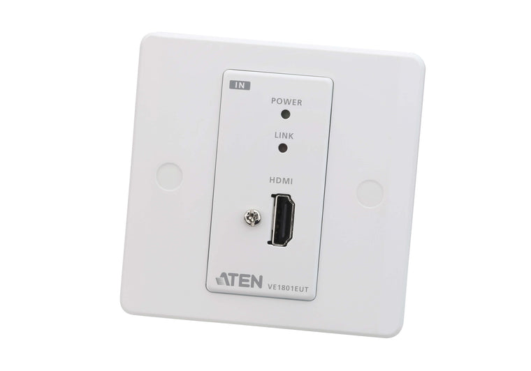 HDMI HDBaseT-Lite Transmitter with EU Wall Plate