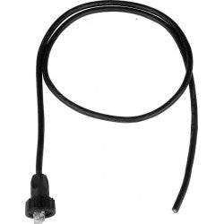 CAT5E-WTP-WU28-2M   -   Waterproof CAT5e Cable Attached Shield IP67 UN Threading RJ45 2 m RJ45 - RJ45 Black