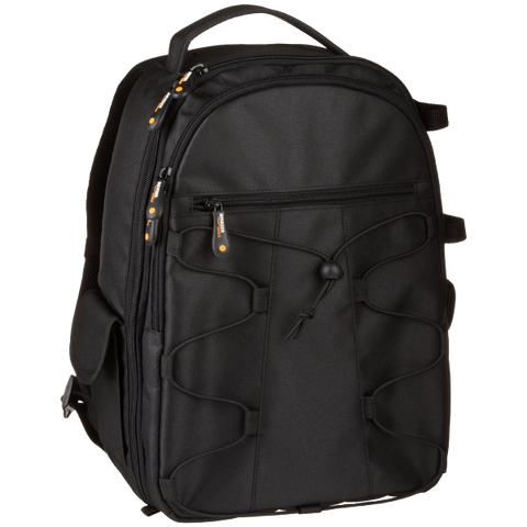 AmazonBasics Backpack for SLR-DSLR Cameras and Accessories - Black