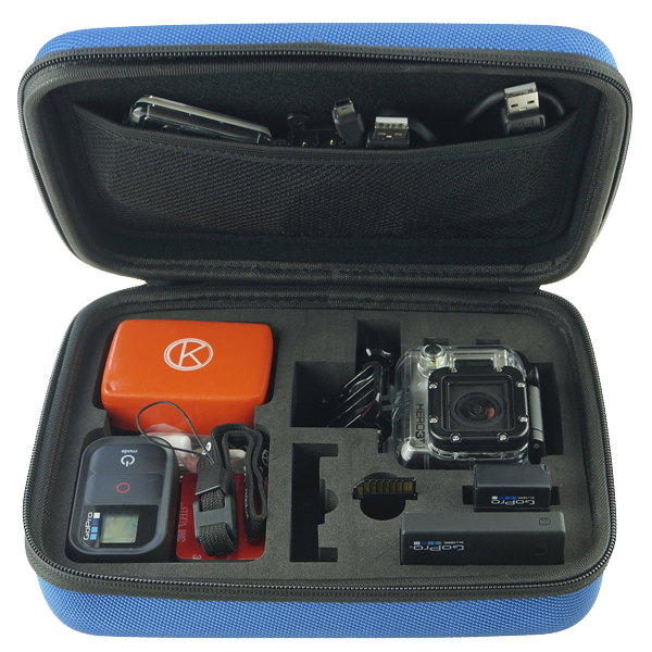 GoPro Case by CamKix for GoPro Hero 1-2-3-3+-4 and Accessories