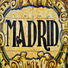 Madrid sign (mosaic)