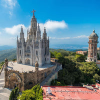 Tibidabo - The Temple Of The Sacred Heart Of Jesus