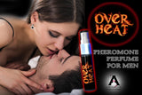 OverHeat Pheromone Perfume for Him - The Bedroom Fire Starter Every Man Wants