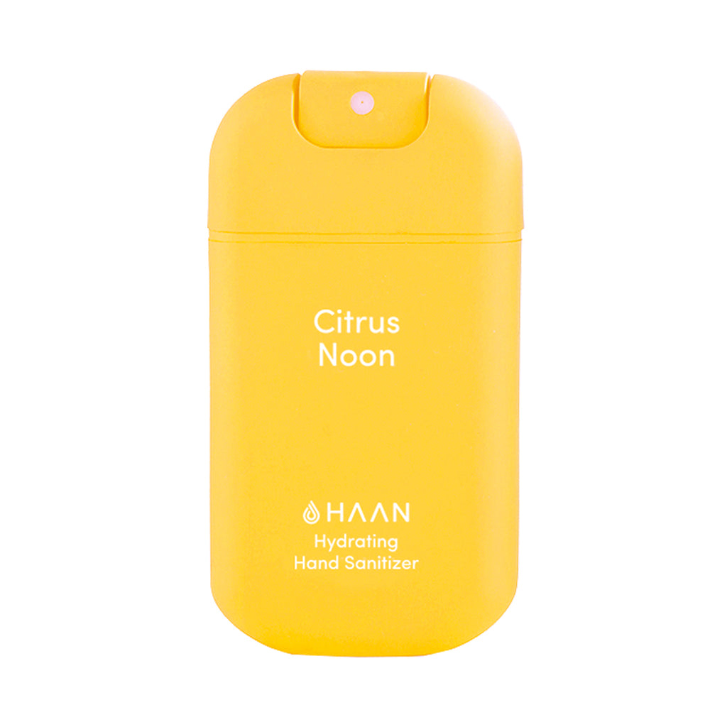 Haan hand sanitizer - Citrus Noon - 30ml spray bottle.