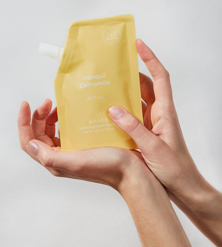 Haan Hand Sanitizer - Tranquil Camomile Refill Pouch