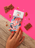 Le chocolat des Francais - 80g Bar - Milk Chocolate & almonds - Calin