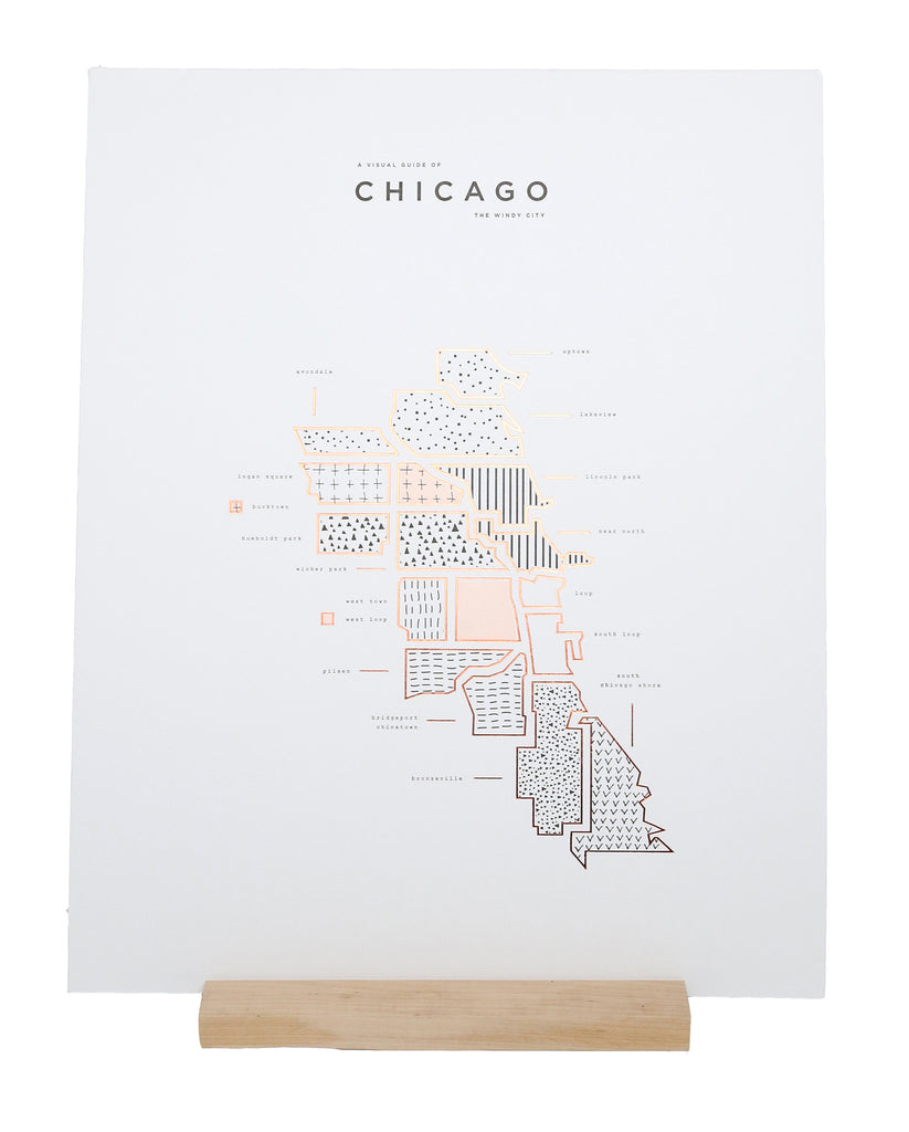Case of Roam by 42 Pressed - Chicago Print
