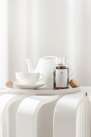 Nordic Honey - Organic White Tea with Birch Leaves and Raspberries