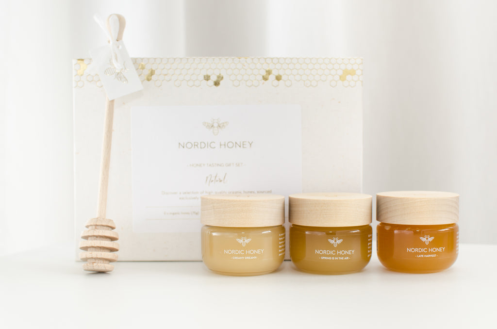 Organic Nordic Honey 'Infused' Tasting Gift Set