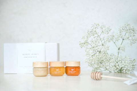 Organic Nordic Honey 'Original' Tasting Gift Set