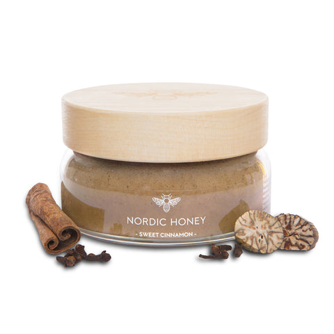 Organic Nordic Infused Honey 'Sweet Cinnamon' - 250 grams