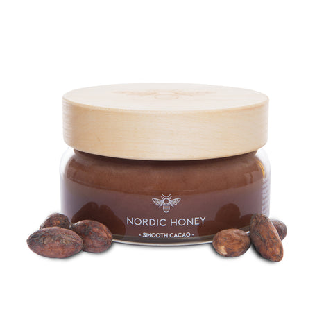 Organic Nordic Infused Honey 'Smooth Cacao' - 250 grams
