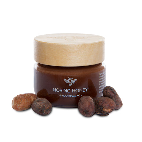 Organic Nordic Infused Honey 'Smooth Cacao' - 75 grams