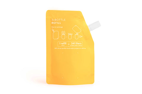 Haan Hand Sanitizer - Citrus Noon Refill Pouches
