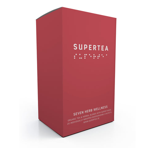 Supertea Seven Herb Wellness Organic