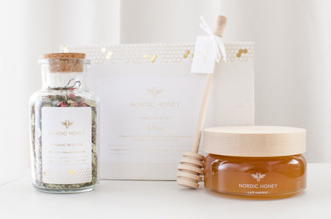 "Organic Nordic Honey and Chocolate Gift Set ""TEALICIOUS"""