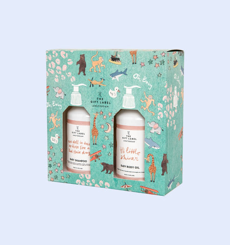 The Gift Label - Baby Gift Set Box