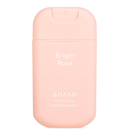 Haan Hand Sanitizer - Bright Rose (30ml bottle)