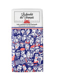 Le chocolat des Francais - 80g Bar - Milk Chocolate & salted caramel - Foule