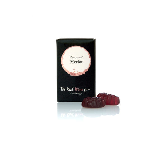Case of Vinoos Real Wine Gums - Mini Snoopers Gift Box - Merlot