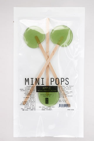 Tutu Spot Designer Lollipops - Mini Pops - Fresh Apple
