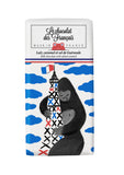 Le chocolat des Francais - 80g Bar - Milk Chocolate  & salted caramel - King Kong