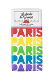Le chocolat des Francais - 80g Bar - Milk Chocolate - Paris Multi