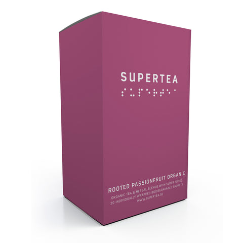 Supertea Rooted Passionfruit Organic
