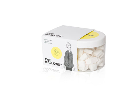 The Mallows Handcrafted Organic Marshmallows - Sour Lemon (Walter Hansen)