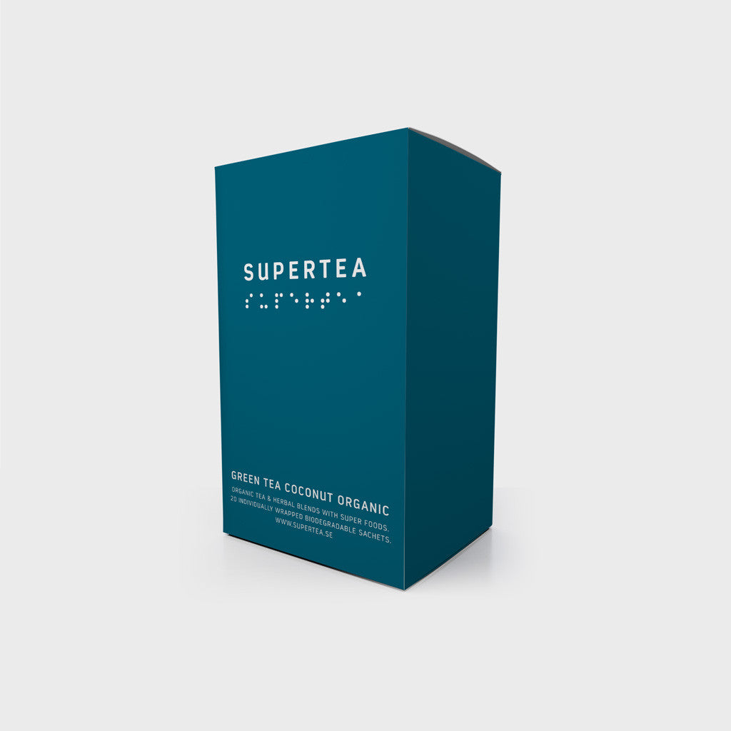 Supertea Green Tea Coconut Organic