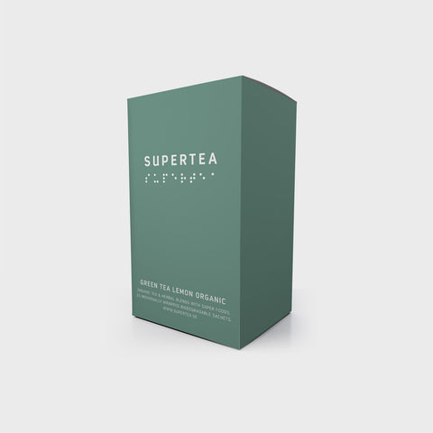 Supertea Green Tea Lemon Organic