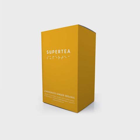 Supertea Lemongrass Ginger Organic