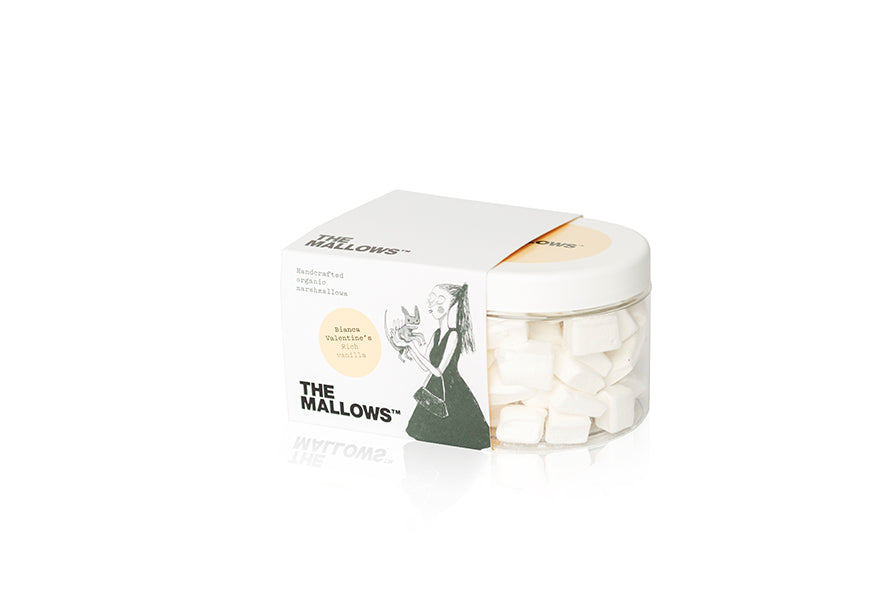 The Mallows Handcrafted Organic Marshmallows - Rich Vanilla (Bianca Valentine)