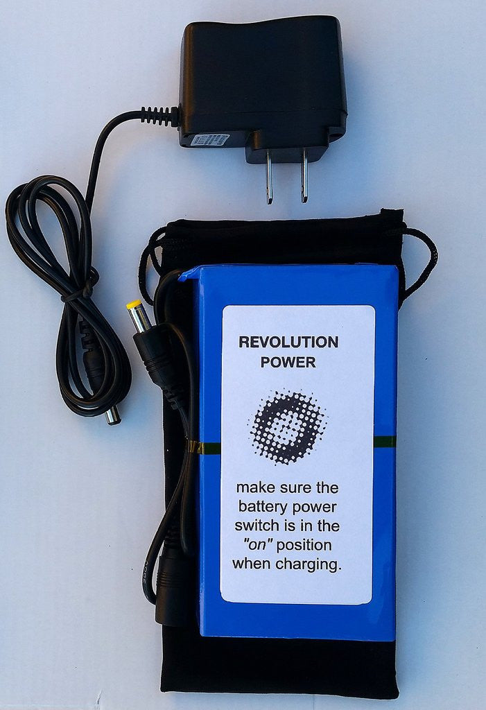 12V battery pack - 9800mAh For Revolution Imager