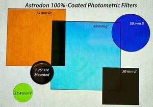 BVRIc Photometric Filters