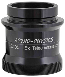 "0.8x CCD Telecompressor for 92mm Stowaway and Traveler. Requires 2.5"" DoveLoc End Cap that comes with 92mm F6.65 Stowaway or EC2725 for Traveler. (92TCC)"